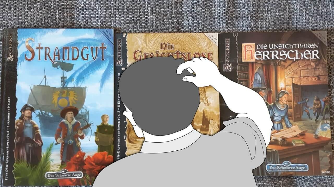 Drei Bücher und keine Ahnung